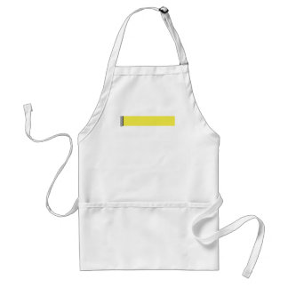 Damask Delight in Yellow Standard Apron