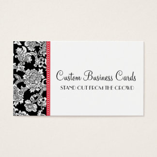 Damask Dot Business Card