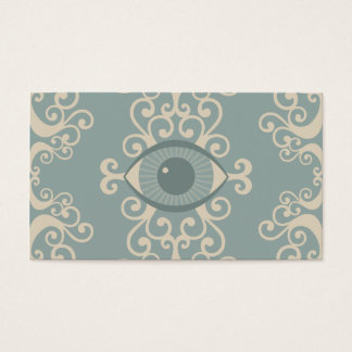 Damask Eyeball Psychic Reader Cards
