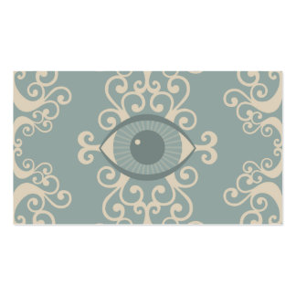 Damask Eyeball Psychic Reader Cards Pack Of Standard Business Cards