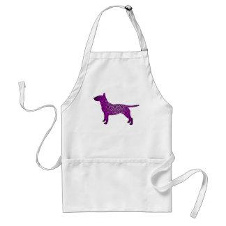 Damask Fancy Bull Terrier Standard Apron