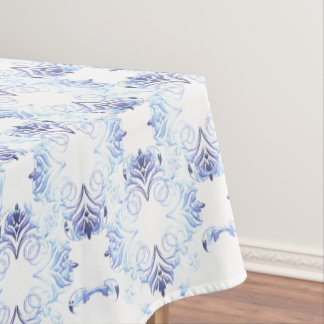 damask floral pattern tablecloth