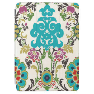 Damask Floral Patterns Plum Turquoise iPad Air Cover