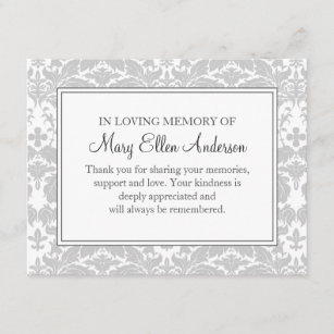 bereavement notes thank you gifts gift ideas zazzle uk