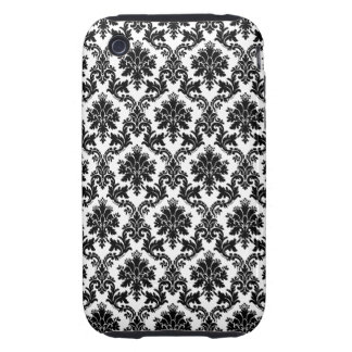 Damask home decor iPhone 3 tough covers