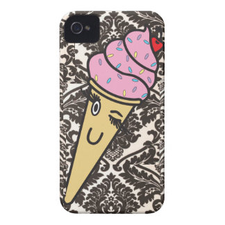 damask ice cream iphone case iPhone 4 covers