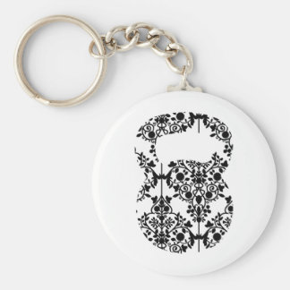 Damask Kettlebell Key Ring