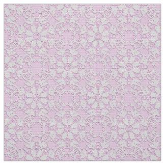 Damask  lace fabric