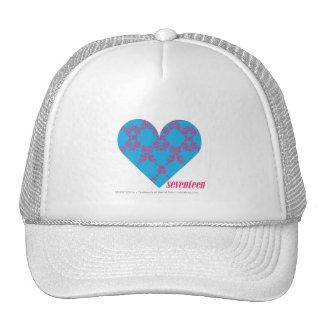 Damask Magenta-Aqua 3 Hat