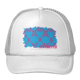 Damask Magenta-Aqua 4 Hat