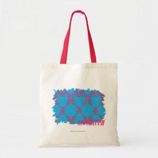 Damask Magenta-Aqua 4 Tote Bag