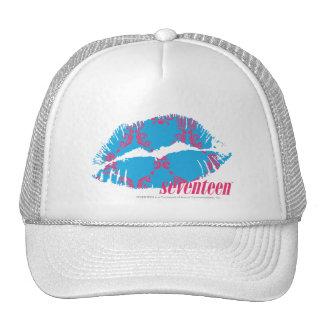 Damask Magenta-Aqua Hats