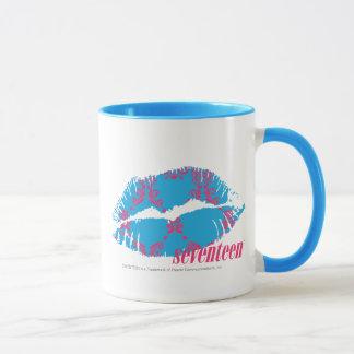 Damask Magenta-Aqua Mug