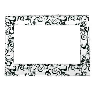 Damask Magnetic Picture Frame