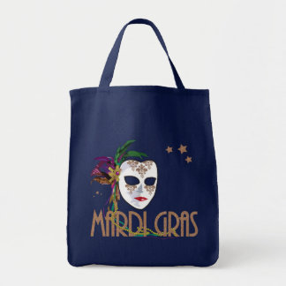 Damask Mardi Gras Mask Bag