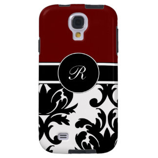 Damask Monogram Galaxy S4 Cases