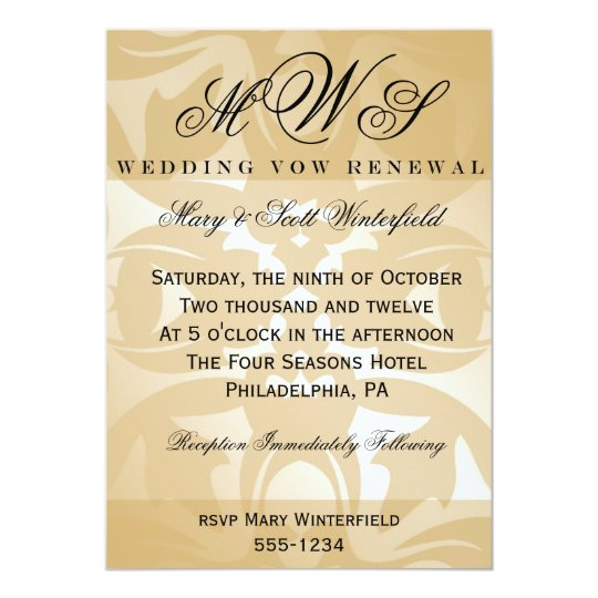 Wedding Vow Renewal Invitations: Vow Renewal Invitations & Announcements