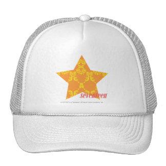 Damask Orange-Yellow 3 Cap