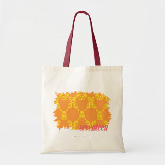 Damask Orange-Yellow 4 Tote Bag