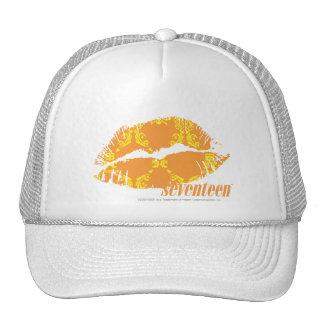 Damask Orange-Yellow Cap