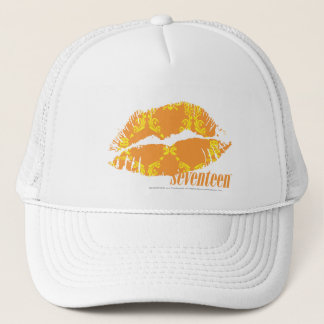 Damask Orange-Yellow Trucker Hat