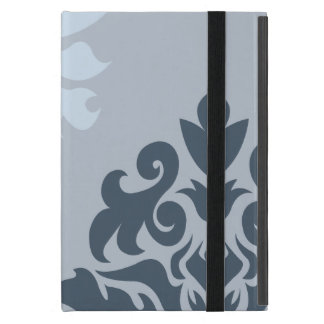 Damask Ornate Montage Blues I Cover For iPad Mini
