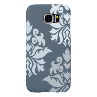Damask Ornate Montage II Blues B Samsung Galaxy S6 Cases