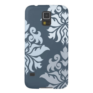 Damask Ornate Montage II Blues B Galaxy S5 Cover