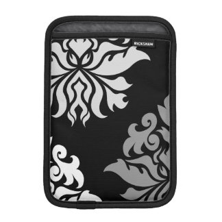 Damask Ornate Montage Monochrome II iPad Mini Sleeves