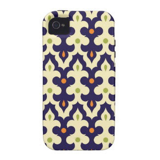 Damask paisley arabesque Moroccan pattern Case-Mate iPhone 4 Cover