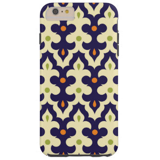 Damask paisley arabesque Moroccan pattern girly Tough iPhone 6 Plus Case