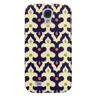 Damask paisley arabesque Moroccan pattern girly Galaxy S4 Case