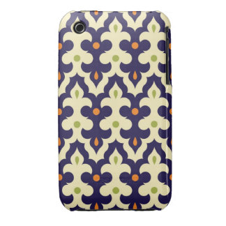 Damask paisley arabesque Moroccan pattern girly iPhone 3 Case-Mate Cases