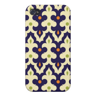 Damask paisley arabesque Moroccan pattern girly iPhone 4/4S Case