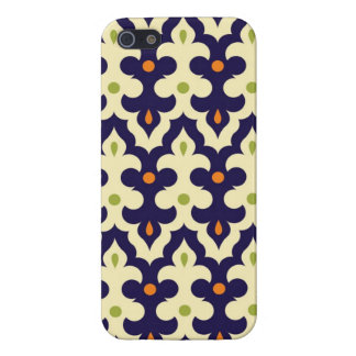 Damask paisley arabesque Moroccan pattern girly iPhone 5/5S Covers