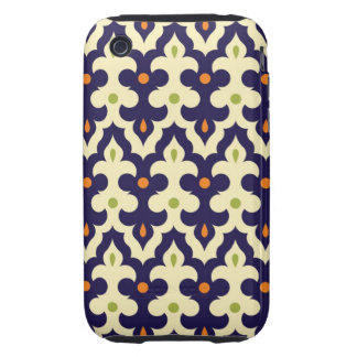 Damask paisley arabesque Moroccan pattern iPhone 3 Tough Covers