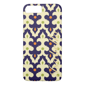 Damask paisley arabesque Moroccan pattern name iPhone 7 Plus Case