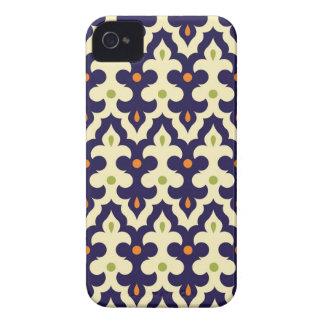 Damask paisley arabesque wallpaper pattern iPhone 4 Case-Mate case