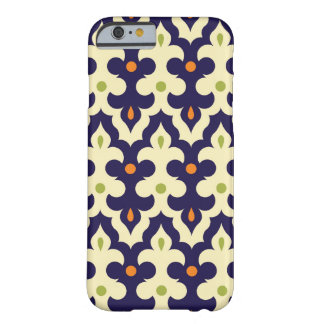 Damask paisley arabesque wallpaper pattern iPhone 6 case