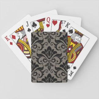 Damask Pattern 2 Playing Cards