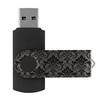 Damask Pattern 2 USB Flash Drive