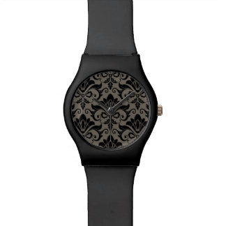 Damask Pattern 2 Watch