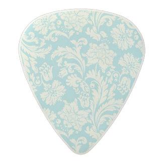 Damask Pattern 3 Acetal Guitar Pick