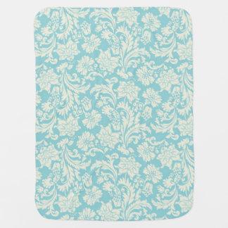 Damask Pattern 3 Baby Blanket