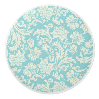 Damask Pattern 3 Ceramic Knob