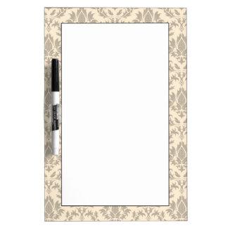 Damask pattern 3 Dry-Erase boards