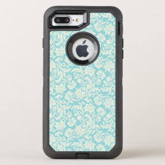 Damask Pattern 3 OtterBox Defender iPhone 8 Plus/7 Plus Case