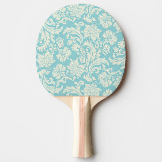 Damask Pattern 3 Ping Pong Paddle