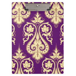Damask Pattern 4 Clipboard