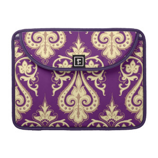 Damask Pattern 4 Sleeve For MacBook Pro
